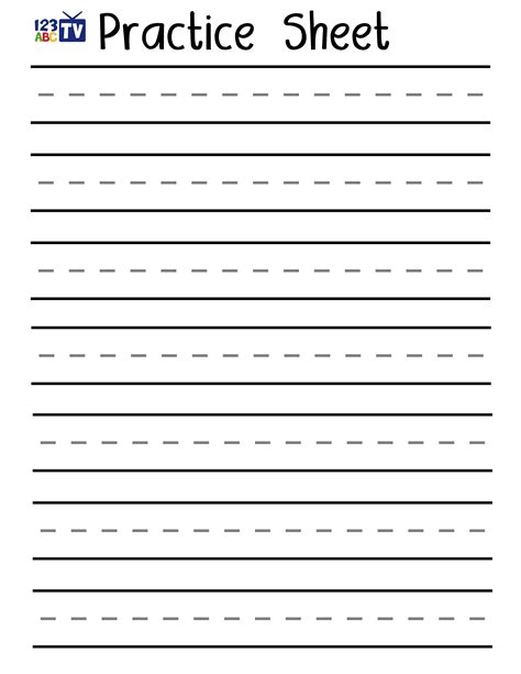blank tracing worksheets printable blank handwriting template cheapweddingdecorationsideas co