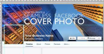 page cover photo template how to create a seamless cover photo and profile