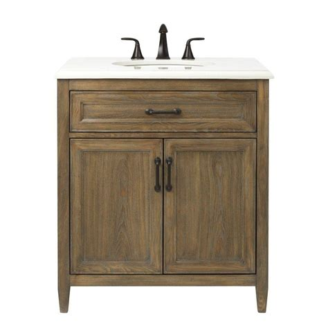 Home Depot Home Decorators Vanity by Home Decorators Collection Walden 31 In W Vanity In