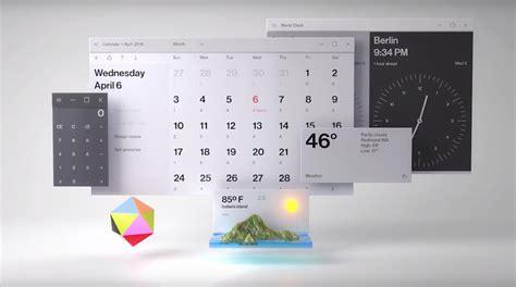 design calendar system microsoft fluent design system breaking down windows 10 s