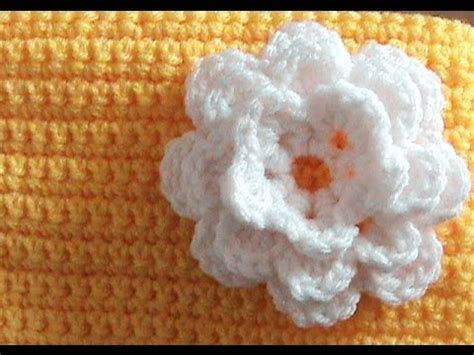 crochet layered flower pattern youtube how to crochet a 3 layer flower youtube