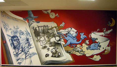 Murals Wall Art roid design graffiti art for hire indoor design wall