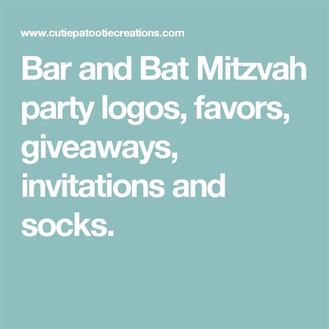 Bar Mitzvah Giveaway Ideas - 17 best images about bar mitzvah party ideas on pinterest