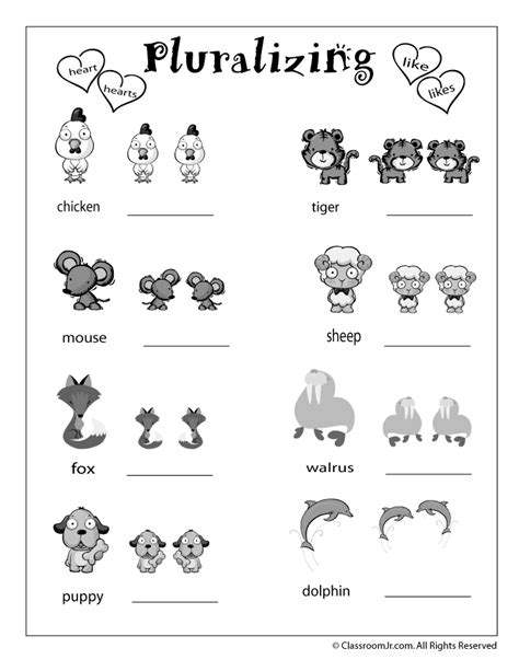 language arts review worksheets woo jr kids activities