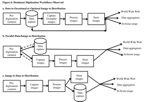 digitization workflow digitization workflows idigbio