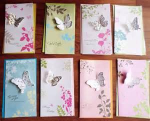 creative birthday greeting cards design 8pcs set creative 3d butterfly greeting cards with