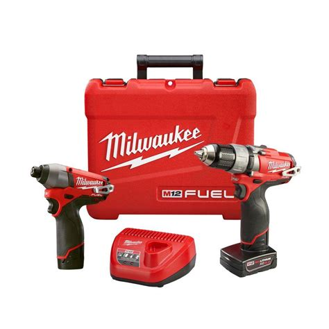 milwaukee m12 fuel 12 volt lithium ion 1 2 in drill