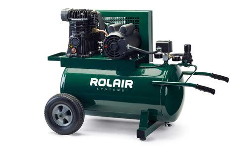 electric wheelbarrow compressors air compressor on wheels rolair systems