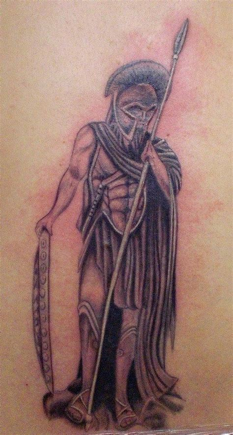 greek warrior tattoo index of images 17