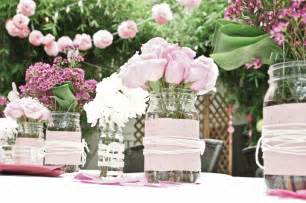 bridal shower flower centerpieces