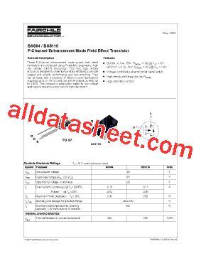 diodes inc bss84 bss84 データシート pdf fairchild semiconductor