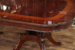 Duncan Phyfe Mahogany Dining Table Mahogany Dining Table Duncan Phyfe Dining Table Mahogany Pedestal Wide