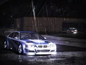 bmw m3 gtr need for speed most wanted rides nfscars