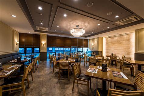 Meja Lipat Kedai Makan gambar meja restoran makanan prasmanan desain interior ruang makan barbecue kedai salad