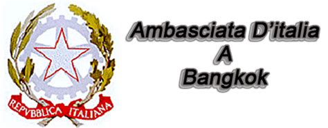 consolati thailandesi in italia ambasciata italiana bangkok thailandia guide notizie