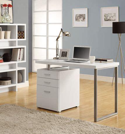 white hollow desk monarch white hollow 48 quot l desk walmart ca