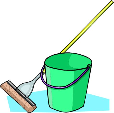 Broom And Mop Clipart