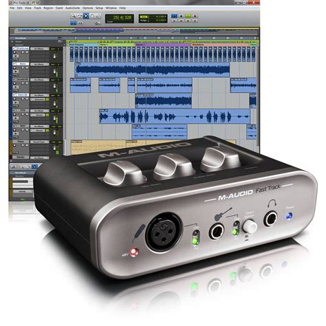 M Audio Fast Track Usb m audio fast track usb interface with pro tools se 9900