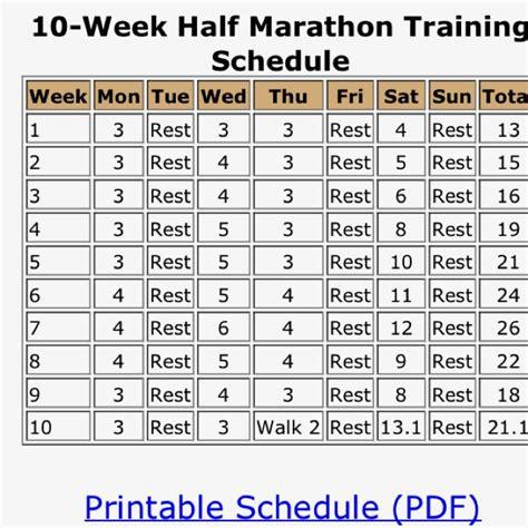 from couch to half marathon training schedule 25 b 228 sta training for half marathon id 233 erna p 229 pinterest