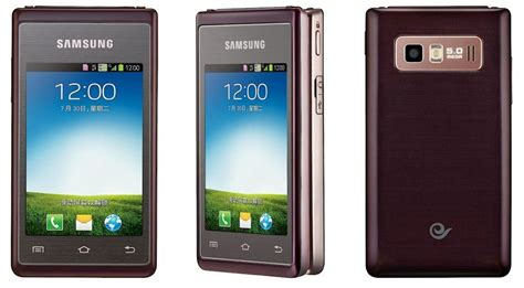 how to flip a on android cult of android samsung s android powered hennessy flip phone is now official cult of android