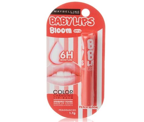 Maybelline Baby Color Changing Lip Balm Pink Bloom Termurah 15 best maybelline lip balms available in india with