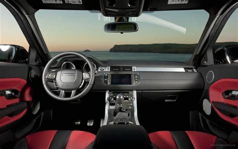 range rover coupe interior range rover evoque 5 door interior wallpaper hd car