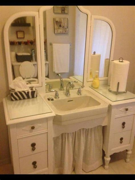 Stand Alone Vanity Simple Redo Small Stand Alone Sink Cut Back Of Vanity Slip Sink Between Drawers Caulk So
