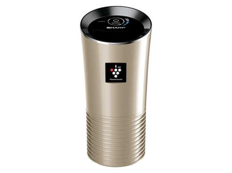 say goodbye to pollution the sleek air purifier from sharp is for your car the