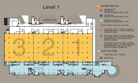 convention center floor plans floor plans shreveport convention center