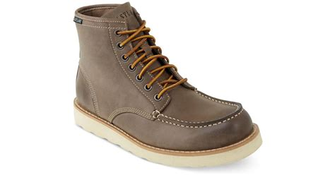 eastland work boots eastland eastland lumber up boots in brown for gray