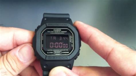 G Shock G5600 Not Dw5600 Dw6900 casio g shock dw5600ms 1 blackout
