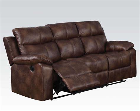 light brown sofas acme light brown sofa w motion dyson ac50815