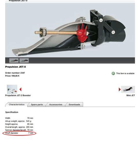 mini jet boat impeller jet drive recomendations rccrawler