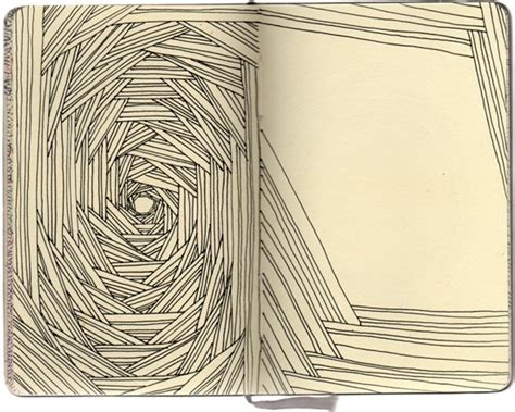 moleskine doodle ideas artist kubo from early obsessions series
