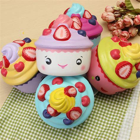 Leilei Cupcake leilei squishy strawberry fruit cup cup cake