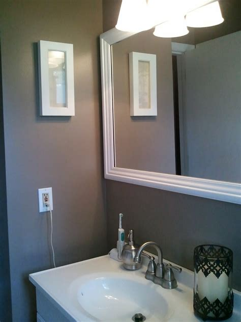 what color to paint a small bathroom to make it look bigger creative paint colors small bathrooms 13 within home