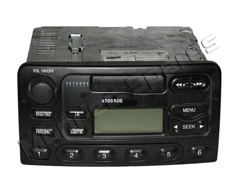 radio cassette ford 4000 rds radio cassette player mondeo