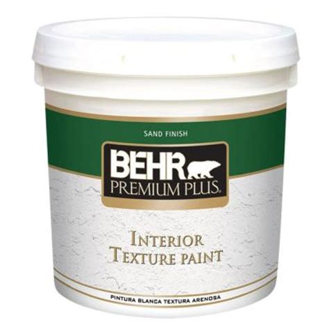 home depot paint with sand behr premium plus 2 gal sand finish flat interior texture