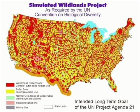 agenda 21 map of the united states agenda 21 and rural depopulation country farmer