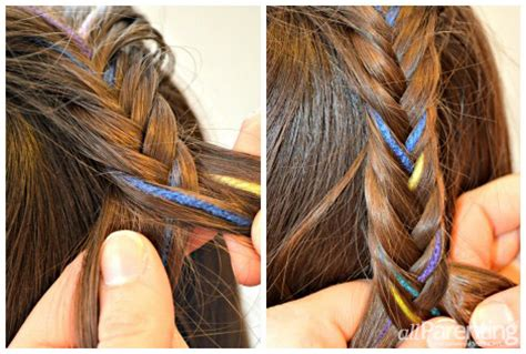 Balesold Hairstyle On Kids | step by step written for braids how to do a waterfall
