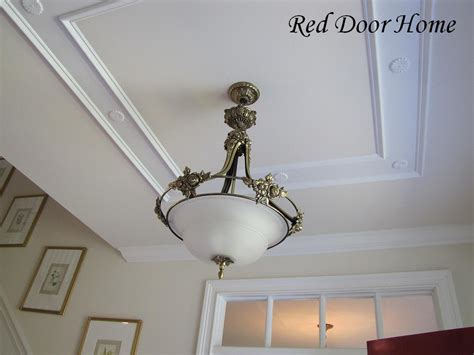 ceiling light fixture molding two simple ideas to add character to your ceilings dj home