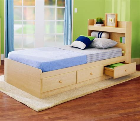 Size Beds With Drawers Underneath by Furniture Toddler Beds With Storage Homesfeed
