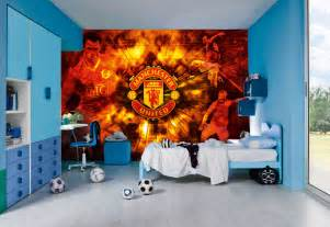 Football Stadium Wallpaper For Bedrooms Football Team Wall Murals