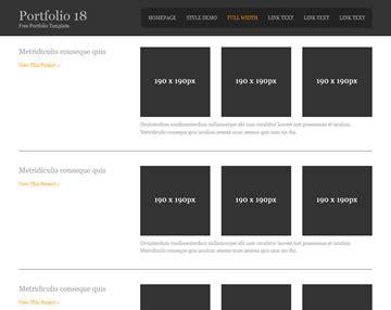 portfolio 18 portfolio templates os templates