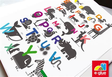The Playroom Trophies by Nouveau Produit E Glue Poster Abc Alphabet Pour Enfants
