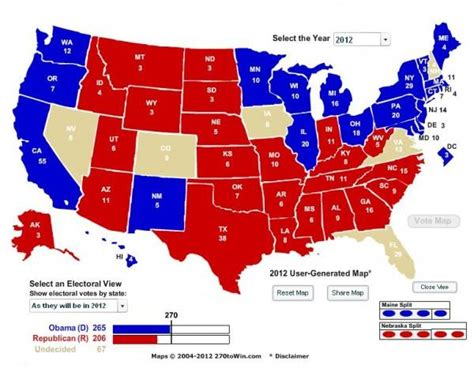 Electoral College Update Big Trouble For Romney In