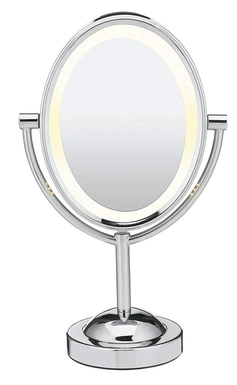 lighted makeup mirror in 12 best lighted makeup mirrors 55 baumbeauty com