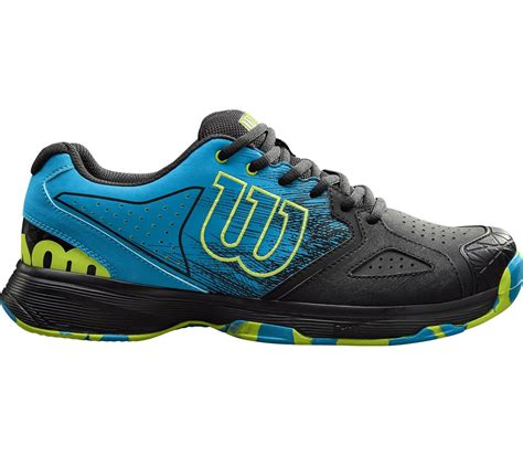 Kaos Blue Black wilson kaos devo s tennis shoes light blue black