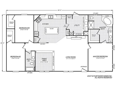 fleetwood mobile home plans fleetwood homes manufactured park models and modular 49644