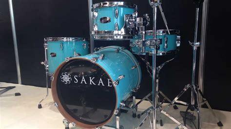 Harga Drum Sakae Pac D musikmesse 2015 sakae pac d compact plus mini drum kit